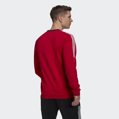 Men Football Red Manchester United CNY Sweatshirt
