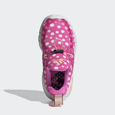 Kids Training White RapidaZen Polka-Dot Shoes