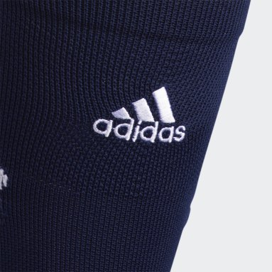 Football Blue Adizero Football Cushioned Crew Socks