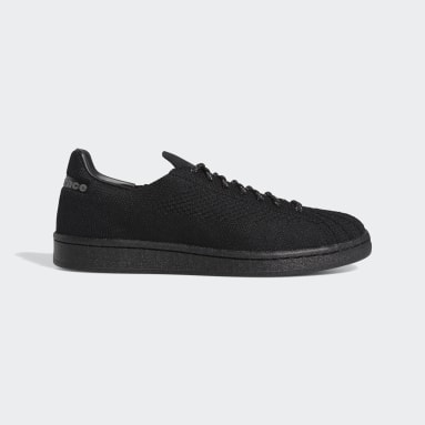 Scarpe Pharrell Williams  Superstar Primeknit Nero Originals