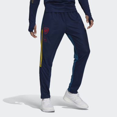 Men Football Blue Arsenal Human Race Training Pants