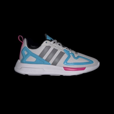 Youth 8-16 Years Originals Grey ZX 2K Flux Shoes