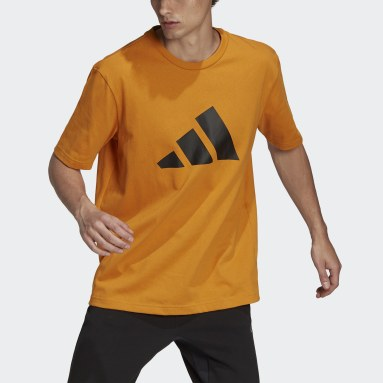 Men's Sportswear Orange adidas Sportswear Future Icons Logo Graphic Tee