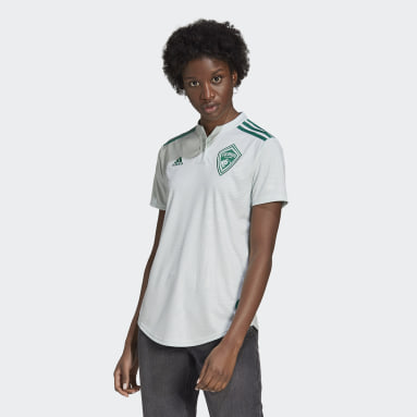 Women's Soccer Green Colorado Rapids 21/22 Away Jersey