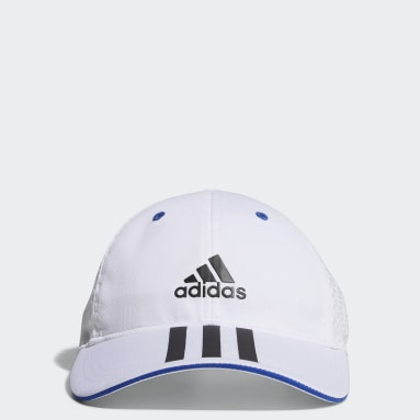 Kids Training White Mesh Cap