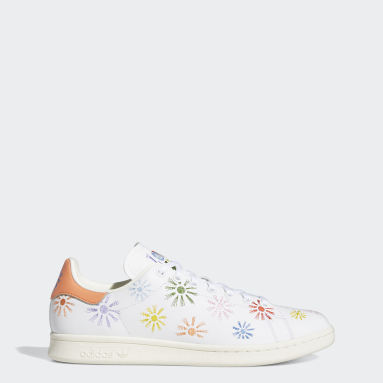 Originals White Stan Smith Pride Shoes