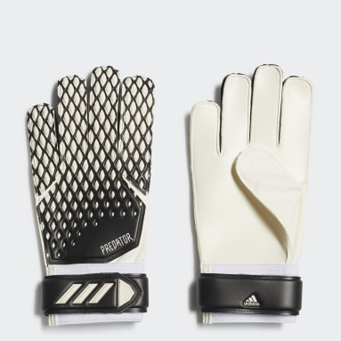 ฟุตบอล สีดำ ถุงมือผู้รักษาประตูสำหรับฝึกซ้อม Predator 20