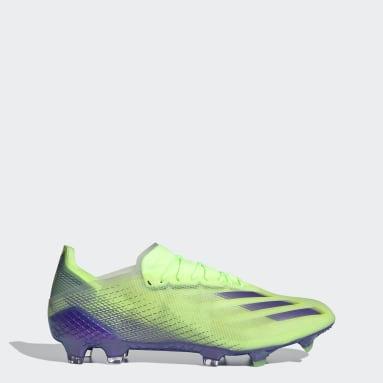 Chimpunes X Ghosted.1 Terreno Firme Verde Hombre Fútbol
