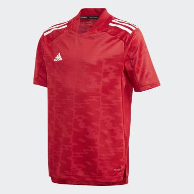 Camiseta Condivo 21 Primeblue Rojo Niño Fútbol
