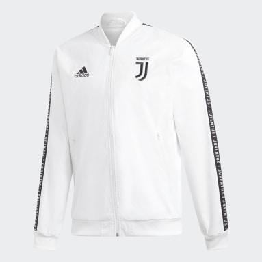 Jaqueta Juventus Hino Branco Homem Futebol