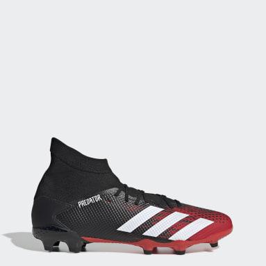 Zapatos de fútbol Predator 20.3 Terreno Firme Negro Hombre Fútbol