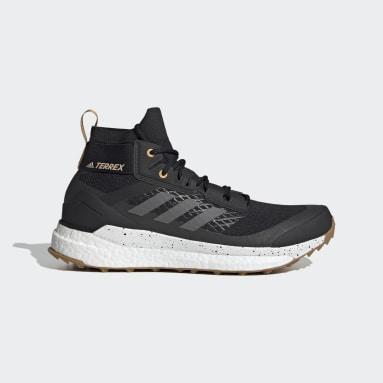 Men TERREX Black Terrex Free Hiker Primeblue Hiking Shoes