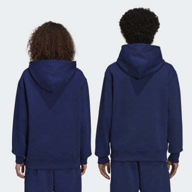 Originals Blå Pharrell Williams Basics Hoodie (Gender Neutral)