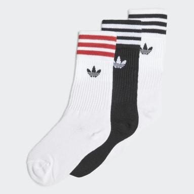 Kinder Originals Crew Socken, 3 Paar Weiß