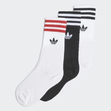 Děti Originals bílá Ponožky Crew – 3 páry
