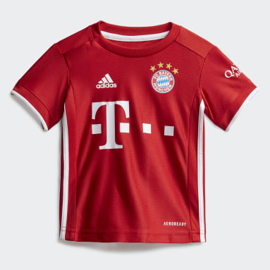 Børn Fodbold Rød FC Bayern Baby hjemmebanesæt