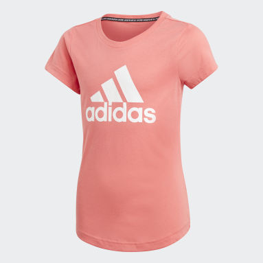 T-shirt Must Haves Badge of Sport Rouge Filles Fitness Et Training