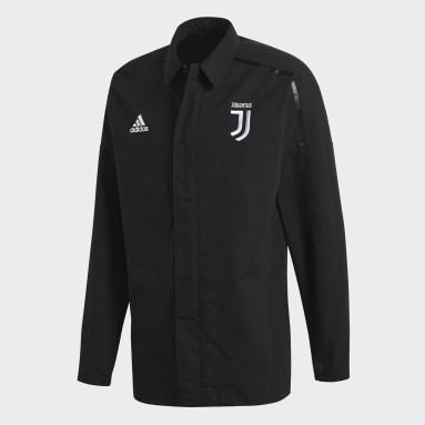 Chamarra Juventus adidas Z.N.E. Negro Hombre Fútbol