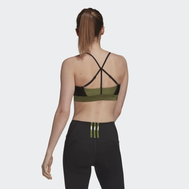 Women Training Green Karlie Kloss Bikini Top