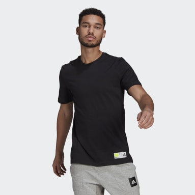 Men Sportswear Black Athletics Graphic T-Shirt