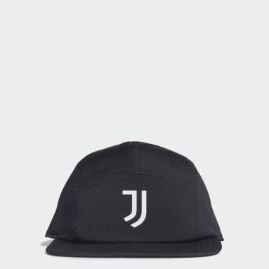 Gorra Five-Panel Juventus (UNISEX) Negro Fútbol