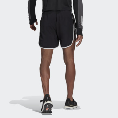 Men Running Black Marathon 20 Primeblue Running Shorts