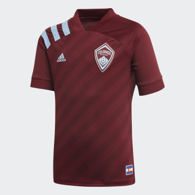 Youth Soccer Purple Colorado Rapids Home Jersey