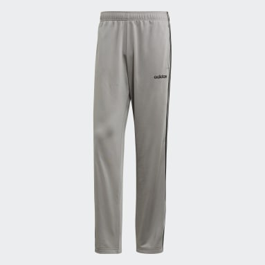 Men's Essentials Grey Essentials 3-Stripes Pants