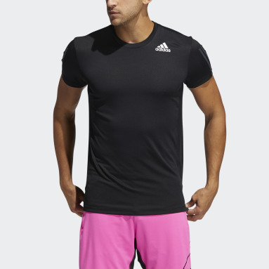 Men's Training Black HEAT.RDY 3-Stripes Tee