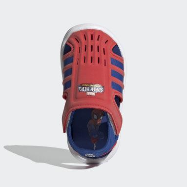 Infants ว่ายน้ำ สีแดง รองเท้าแตะลุยน้ำ