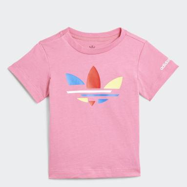 T-shirt Adicolor Rose Enfants Originals