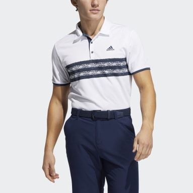 Polo Core Blanc Hommes Golf