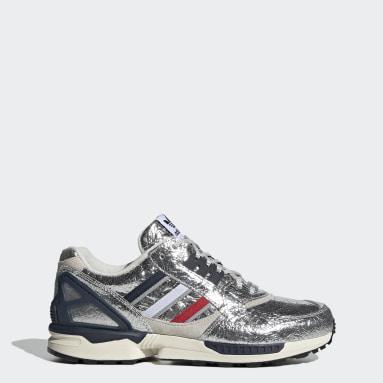 Originals Silver ZX 9000 Concepts (Boston Marathon®) Shoes