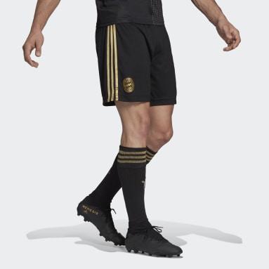 Football Black FC Bayern 21/22 Away Shorts