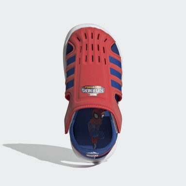 เด็ก ว่ายน้ำ สีแดง รองเท้าแตะลุยน้ำ