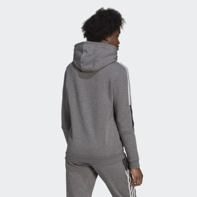 Women's Lifestyle Grey Tiro 21 Sweat Hoodie