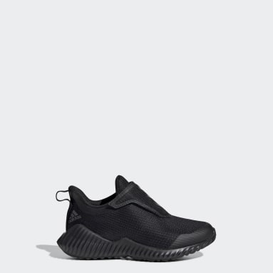 Kids Training Black FortaRun Shoes
