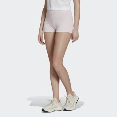 Women's Originals Pink Tennis Luxe Booty Shorts