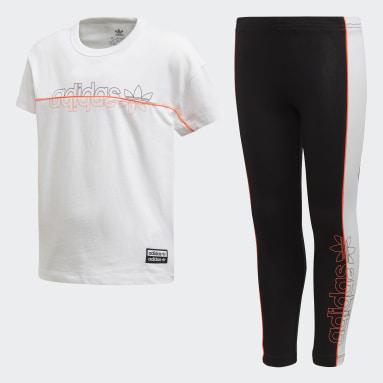 Trẻ em Originals Bộ áo phông quần legging