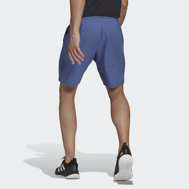 Men Tennis Blue Tennis Ergo Primeblue 9-Inch Shorts