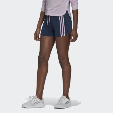 Women's Essentials Blue adidas x Zoe Saldana AEROREADY Shorts