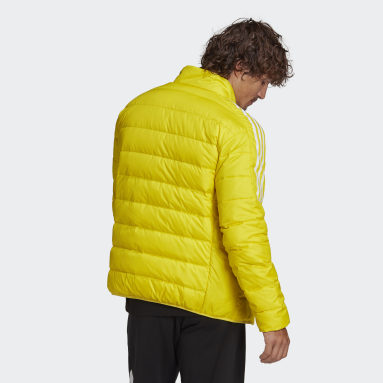 Männer City Outdoor Essentials Daunenjacke Gelb