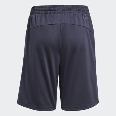 Pantalón corto adidas Designed To Move Camouflage Azul Niño Sportswear