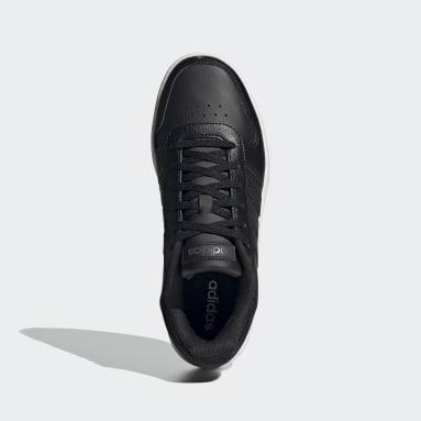 Women Sport Inspired Black Hoops 2.0 Shoes