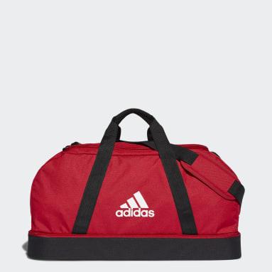 Football Red Tiro Primegreen Bottom Compartment Duffel Bag Medium