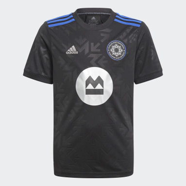 Youth Soccer Black CF Montreal 21/22 Home Jersey