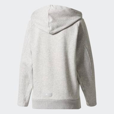 Sudadera Essentials Gris Mujer adidas by Stella McCartney