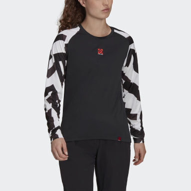 Women Five Ten Black Five Ten TrailX Long-Sleeve Top