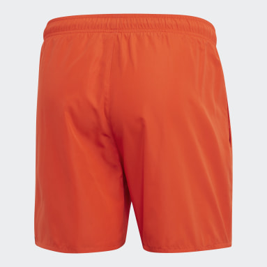 Short de bain Solid Orange Hommes Sports Nautiques