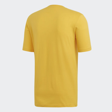 Essentials 3-Stripes t-skjorte Gul